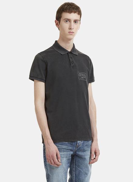 One Batch Logo Cotton Polo Shirt