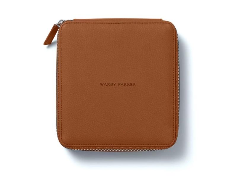 Warby Parker Travel Case in Walnut