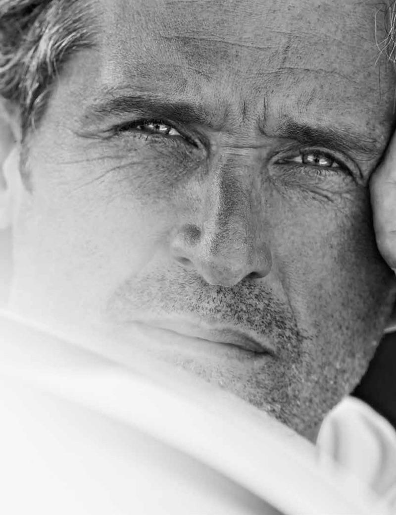 Alex Lubomirski photographs Patrick Dempsey for GQ Germany.