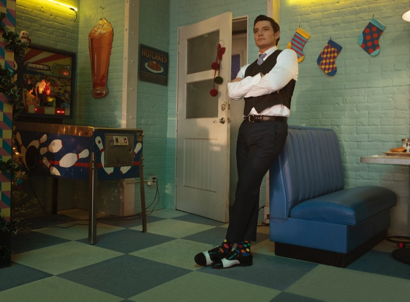 Happy Socks taps actor Pedro Pascal as the star of its holiday 2018 campaign.
