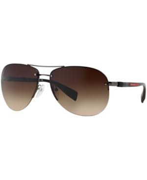 Prada Linea Rossa Sunglasses, Ps 56MS 62