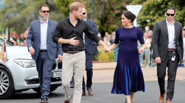 Photographed out and about, Prince Harry, Duke of Sussex and Meghan, Duchess of Sussex continue their tour of New Zealand.