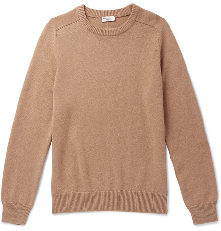 Saint Laurent - Cashmere Sweater - Camel