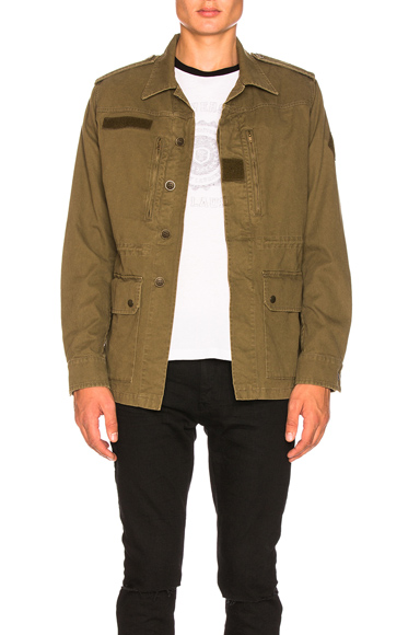 Saint Laurent Military Parka in Green. - size 46 (also in )