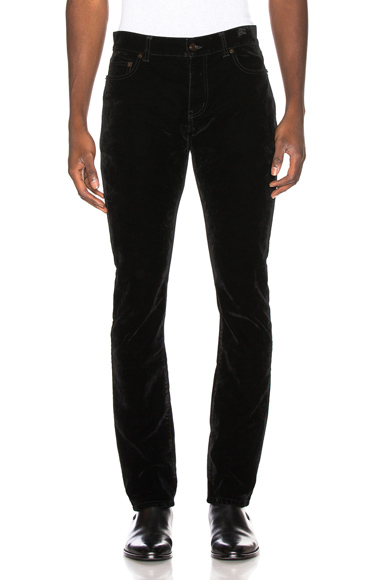 Saint Laurent Slim Fir Vladimir Jean in Black. - size 34 (also in 28,29,30,31,32)