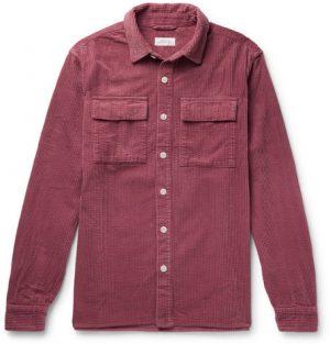 Saturdays NYC - Magnus Cotton-Corduroy Shirt - Plum