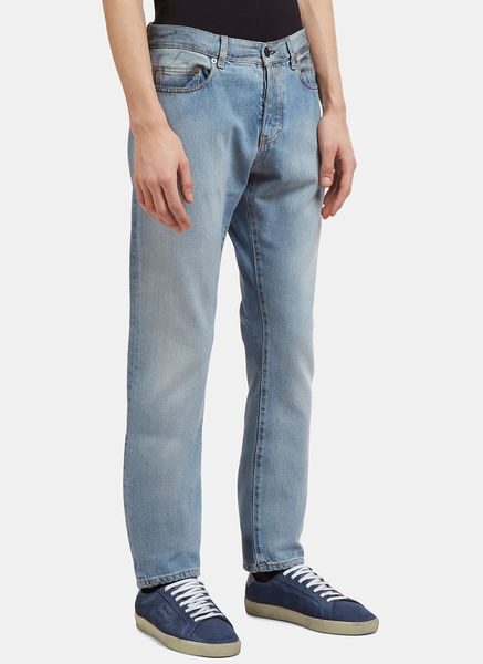 Slim Fit Dirty Grease Jeans