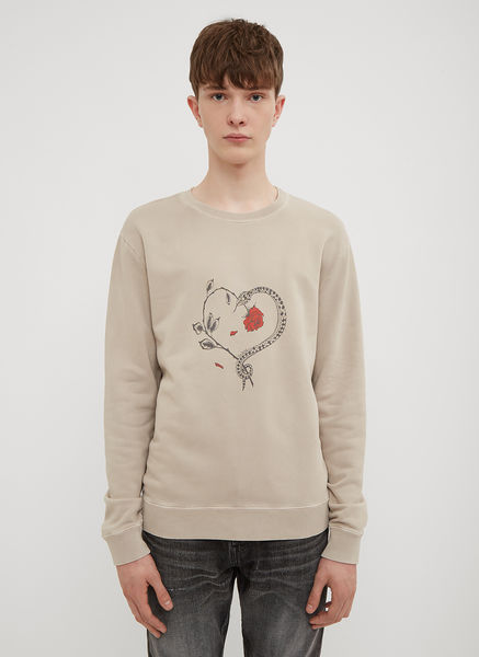 Snake and Rose Logo Sweatshirt