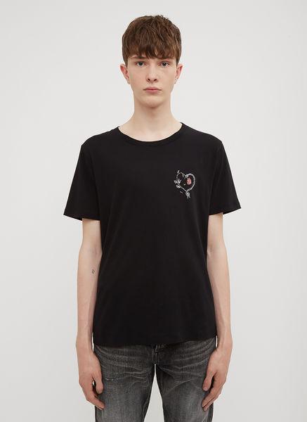 Snake and Rose Logo T-Shirt