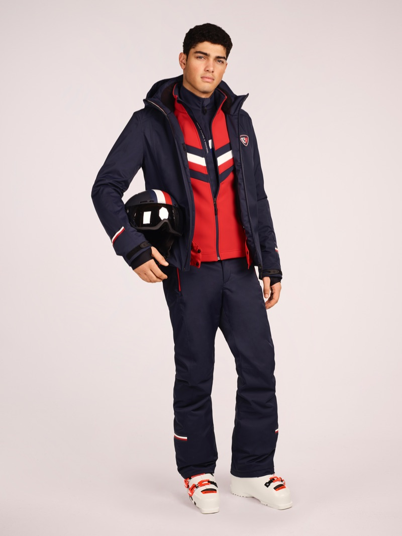 Torin Verdone is front and center for the Tommy x Rossignol lookbook.