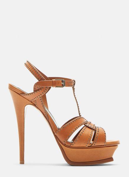Tribute Stud Platform Heel Sandals