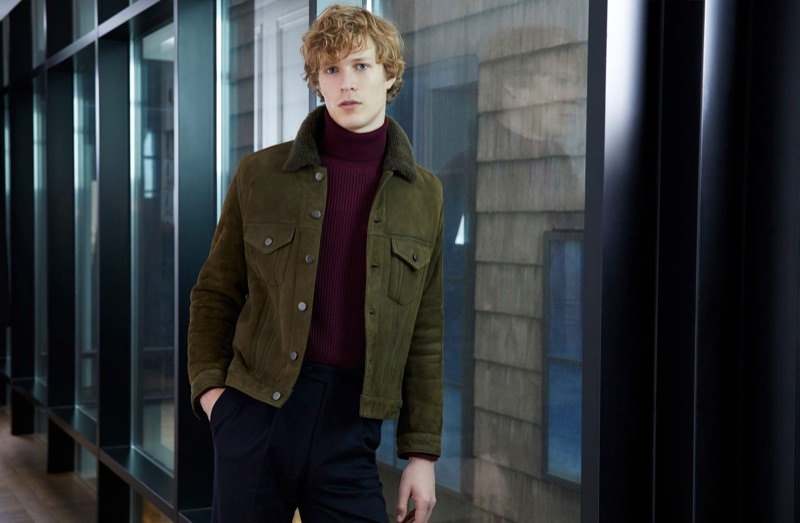 Dutch model Sven de Vries stars in Valstar's fall-winter 2018 campaign.