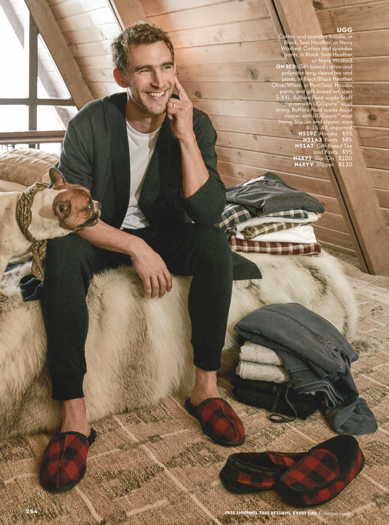 Cabin Fever: Will Chalker Dons Winter Style for Neiman Marcus