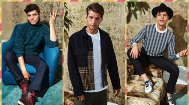 Ben Bowers & Antonino Russo Embrace Holiday Style the Italian Way