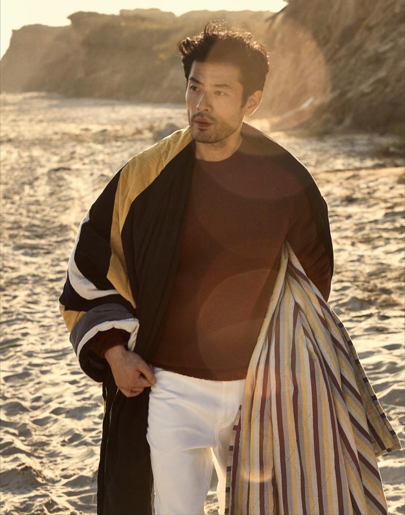 Yusuke Ogasawara Hits the Beach with Craig Salmon