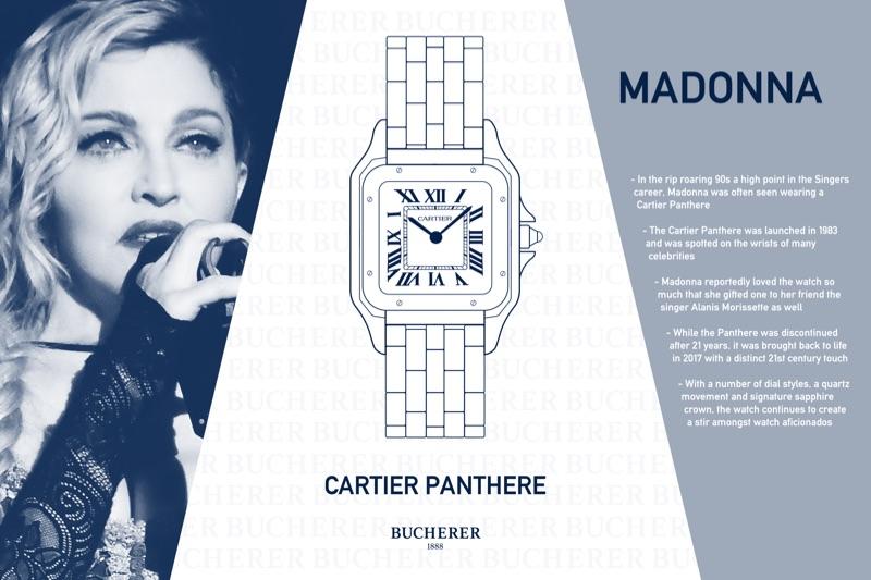 Madonna - Cartier Panthere