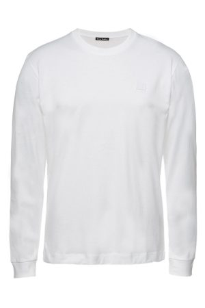 Acne Studios Cotton Elwood Face Longsleeve Shirt