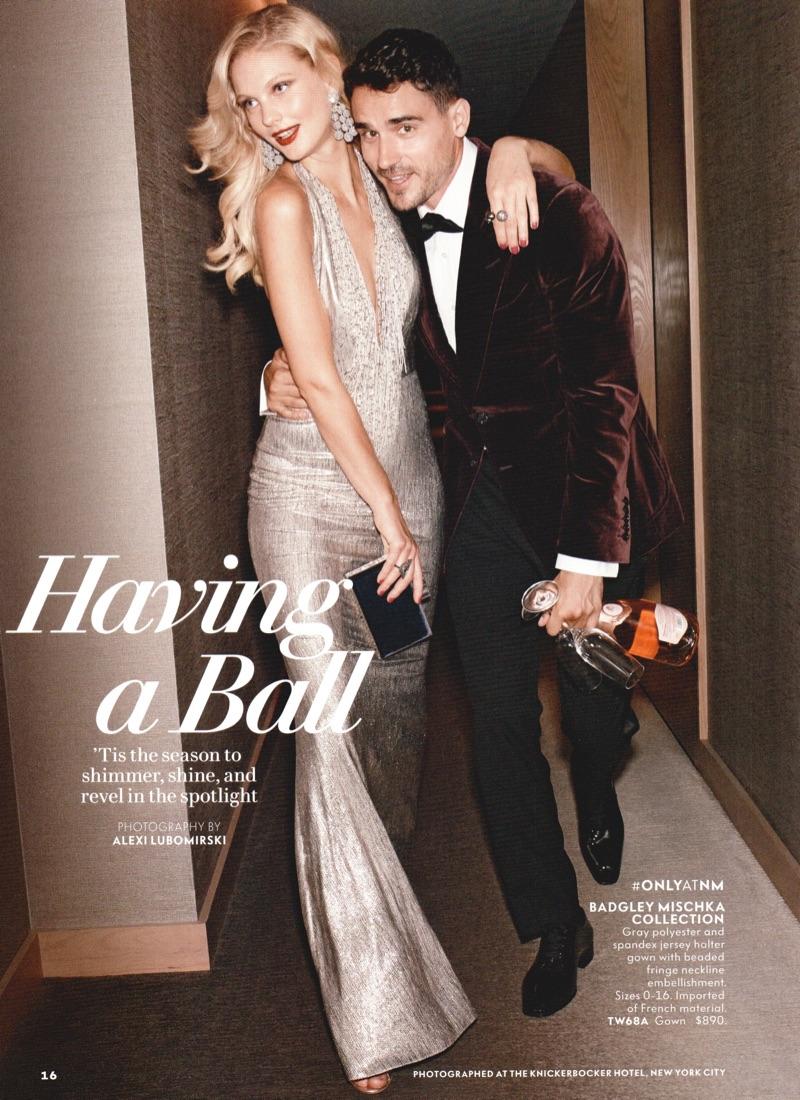 Neiman Marcus celebrates the holiday season with a stylish outing featuring Arthur Kulkov.