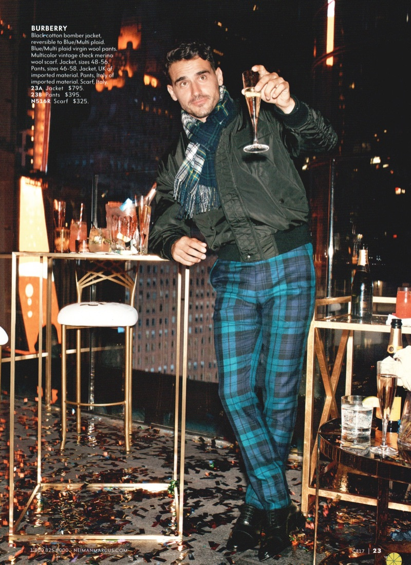 Having a Ball: Arthur Kulkov Dresses Up with Neiman Marcus