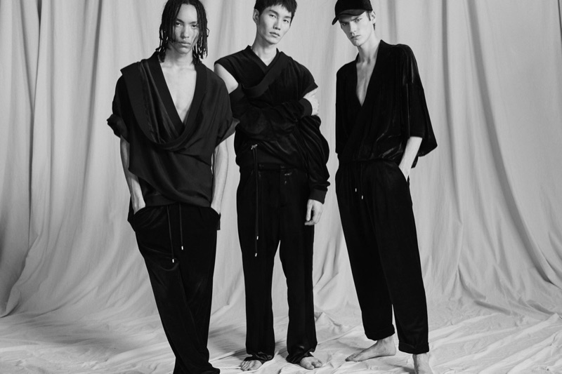 Olivier Rousteing looks to Japanese culture to inspire parts of Balmain's pre-fall 2019 men's collection.