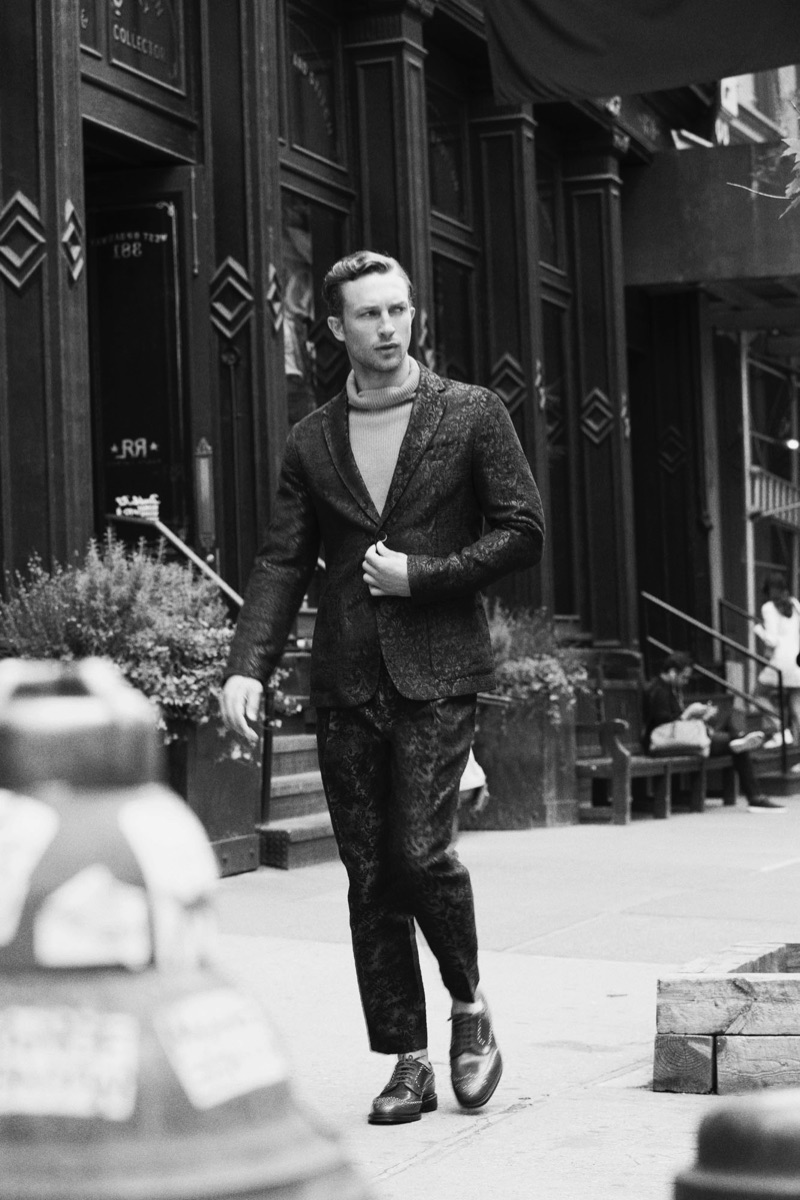 Ben Waddell Explores Downtown New York with PORT Magazine