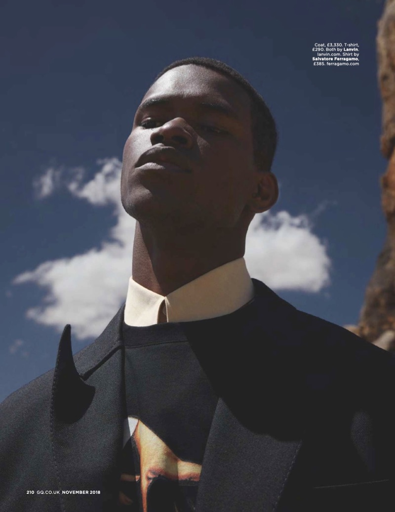 Salomon Diaz & Valentine Rontez Don Trenches for British GQ