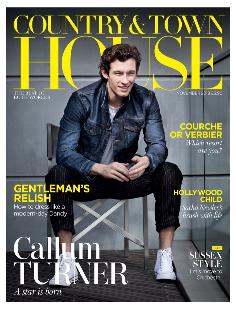 Callum Turner covers Country & Town House.