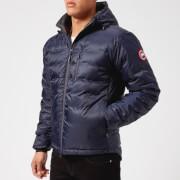 Canada Goose Men's Lodge Hoody Jacket - Blue/Black - S - Blue