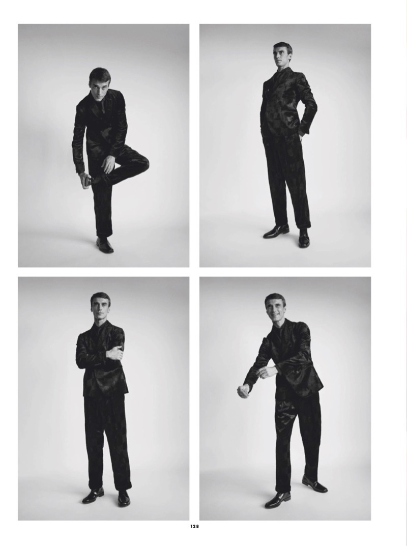 Clément Chabernaud Takes to Paris for GQ France