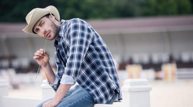 Cowboy Plaid Shirt Style