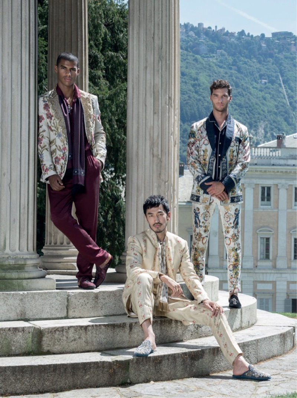 Aurélien Muller, Andrea Zelletta + More Don Dolce & Gabbana Alta Sartoria for The Rake