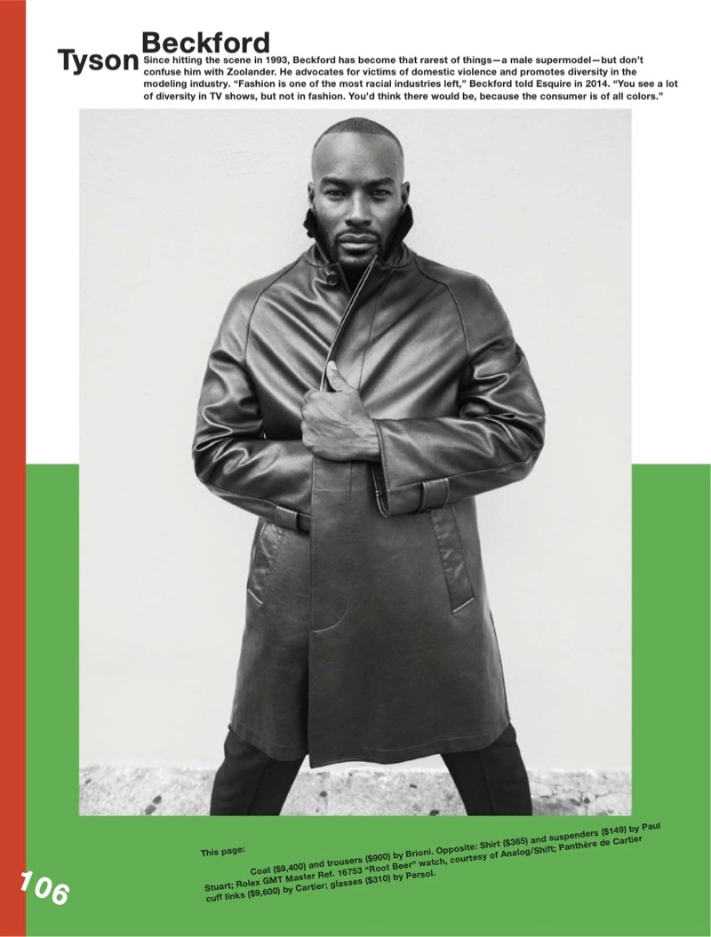Tyson Beckford, Bruce Hulse, & Tim Easton Embrace Classics for Esquire