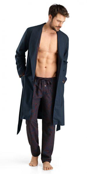 HANRO (75346) Select Robe - Midnight Cosy S