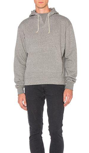 JOHN ELLIOTT Kake Mock Pullover in Grey. - size M (also in L)