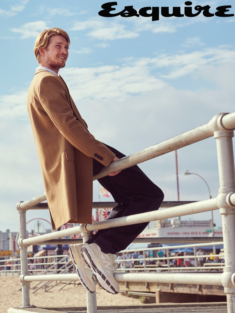 Joe Alwyn Heads to Coney Island with Esquire, Talks 'Mary, Queen of Scots'