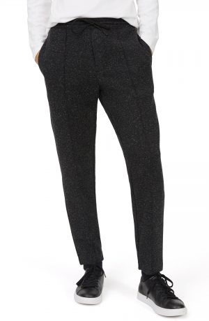 Men's Club Monaco Trim Fit Jogger Pants, Size Medium - Black