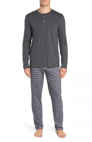 Men's Hanro Night & Day Cotton Pajama Set