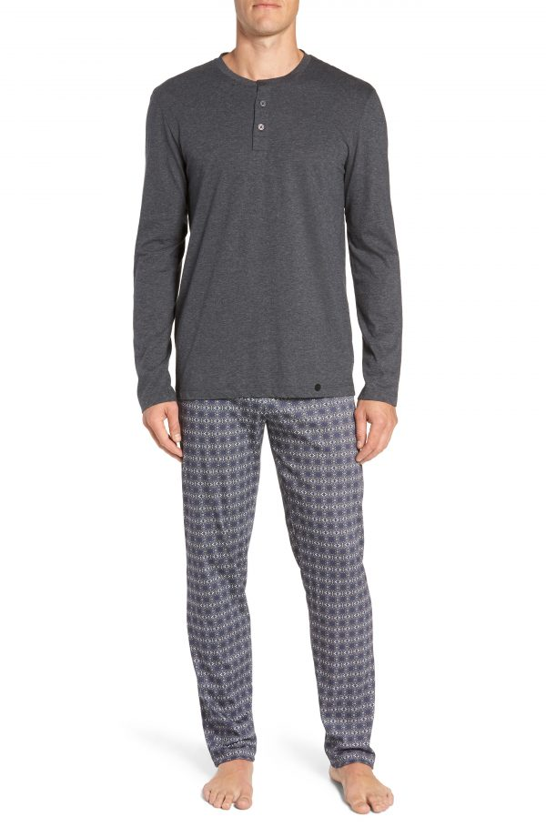 Men's Hanro Night & Day Cotton Pajama Set