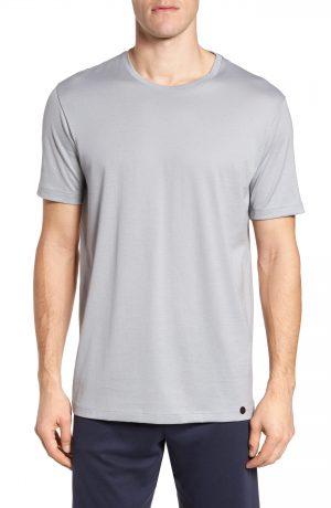 Men's Hanro Night & Day Crewneck T-Shirt, Size Medium - Grey