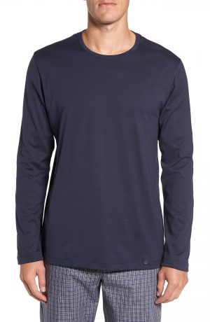 Men's Hanro Night & Day Lounge T-Shirt, Size Small - Black