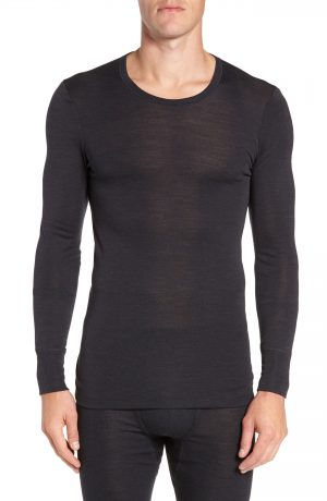 Men's Hanro Wool & Silk Long Sleeve T-Shirt