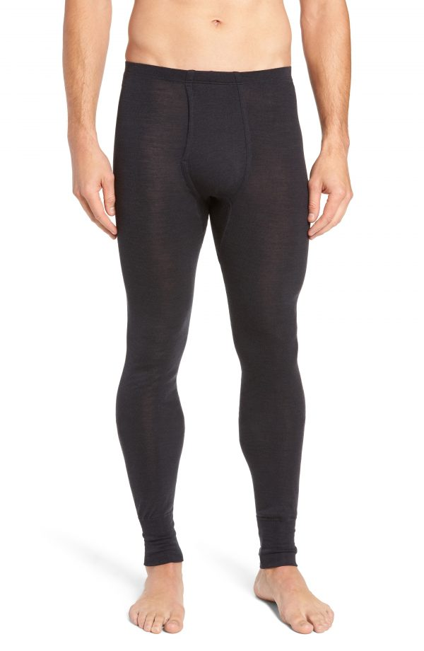 Men's Hanro Wool & Silk Long Underwear