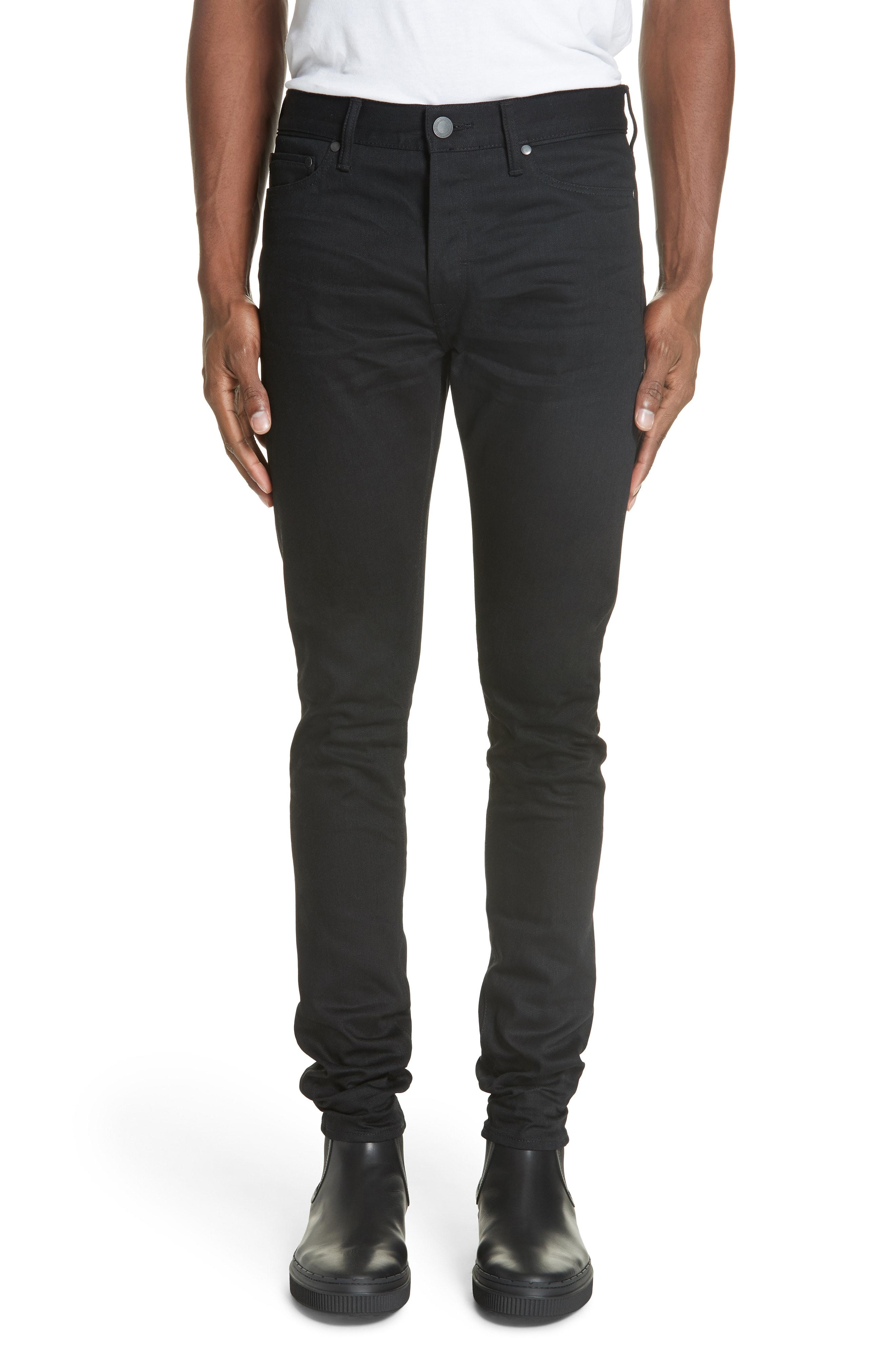 Men's John Elliott The Cast 2 Slim Fit Jeans, Size 30 Blue
