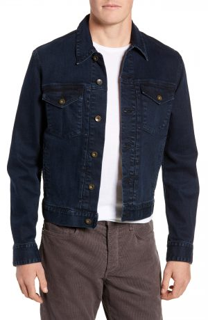 Men's Rag & Bone Definitive Denim Jacket, Size Small - Blue