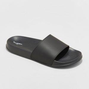 Men's Rickey Slide Sandals - Goodfellow & Co Black S