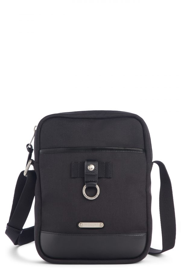 Men's Saint Laurent Small Messenger Bag - Black