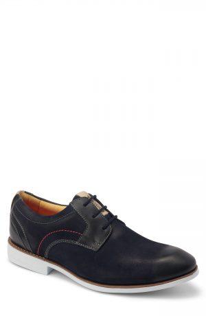 Men's Sandro Moscoloni Mantel Plain Toe Derby, Size 7.5 D - Blue