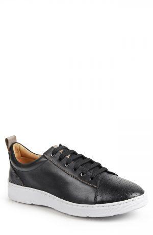 Men's Sandro Moscoloni Myron Perforated Sneaker, Size 7.5 D - Black
