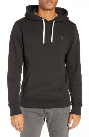 Men's Saturdays Nyc Ditch Slash Embroidered Hoodie, Size Small - Black