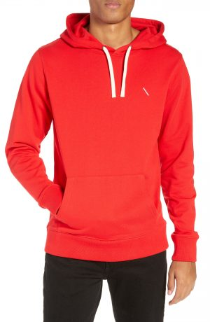 Men's Saturdays Nyc Embroidered Slash Hoodie, Size XX-Large - Red